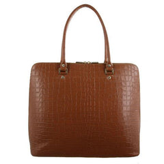 Morrissey Croc Embossed Italian Leather Handbags - MO2516