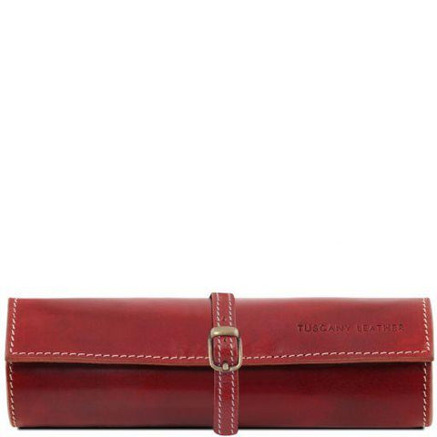 Italian Leather Jewellery Case - TL141621