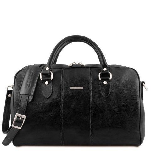 Lisbona Travel Leather Duffle Bag - Small Size - TL141658