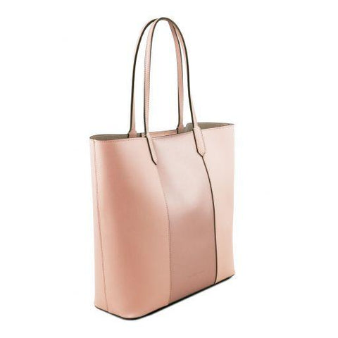 Dafne Ruga Leather Shopping Bag TL141702