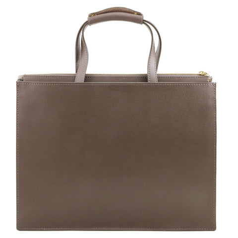 Tuscany Leather Palermo Women's Saffiano Leather Briefcase TL141369-Executive Leather