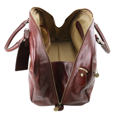 Italian Leather Travel bagsTL141405 - Executive Leather