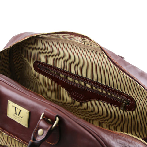 Italian Leather Travel bagsTL141422 - Executive Leather