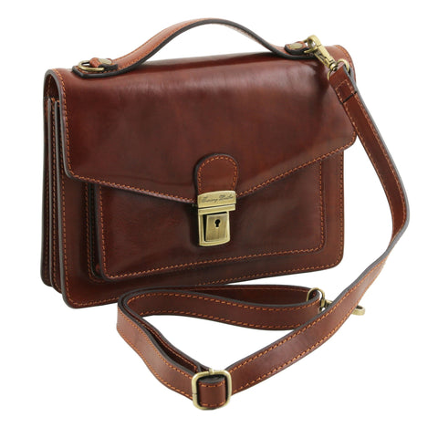 Eric Leather Crossbody Bag For Men TL141443
