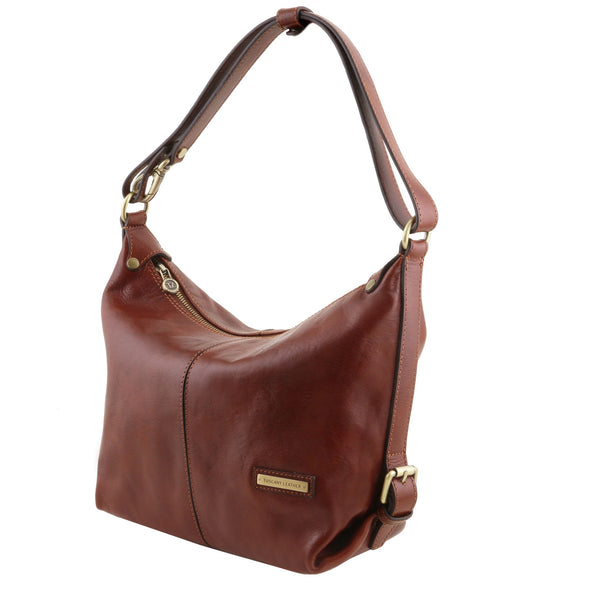 TL Sabrina Leather Hobo Bag TL141479 - Executive Leather