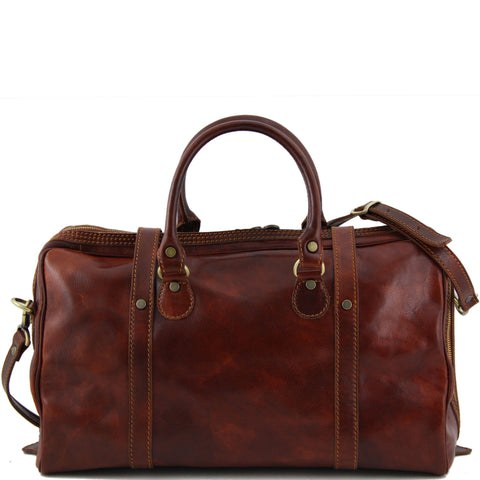 Tuscany Leather Berlin Italian Leather Travel Bag Small Size TL1014 - Executive Leather