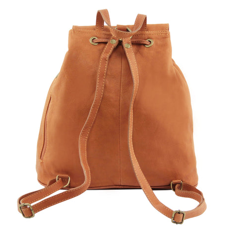 Tuscany Leather Seoul Leather backpack Large size TL141507 - Executive Leather