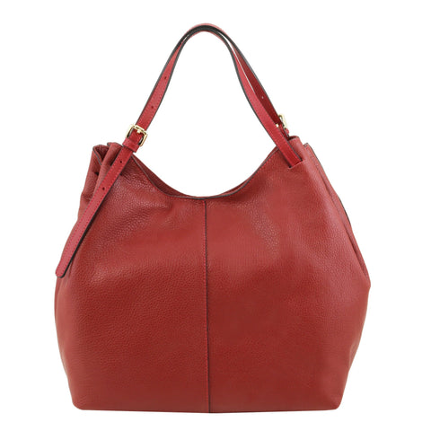 TL Cinzia Soft Leather Shopping Bag TL141515 - Executive Leather