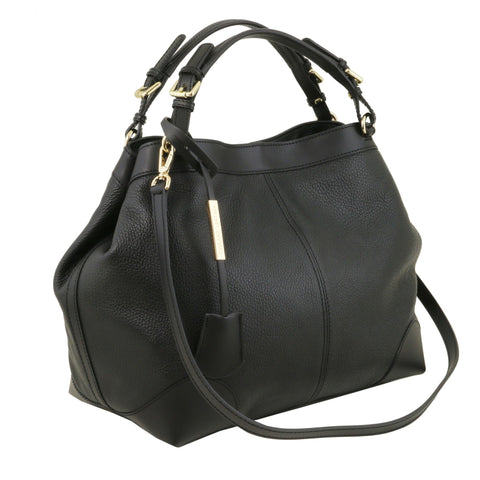 Ambrosia - Soft Leather Bag with Shoulder Strap TL141516 - Executive Leather
