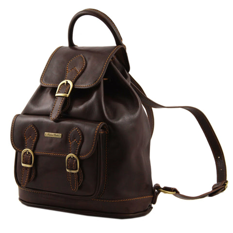 SINGAPORE Leather - Backpack TL9039 - Executive Leather