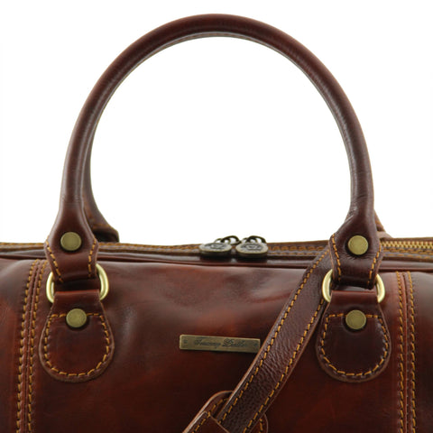 Italian Leather Travel bagsTL1045 - Executive Leather
