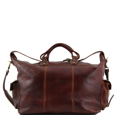 Porto Travel Leather Weekender Bag TL140938 - Executive Leather