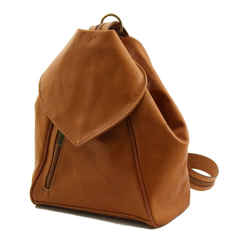 DELHI Leather backpacks TL140962 - Executive Leather