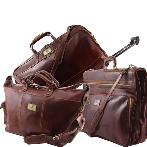 Luxurious Trio Travel Set TL141078-Executive Leather