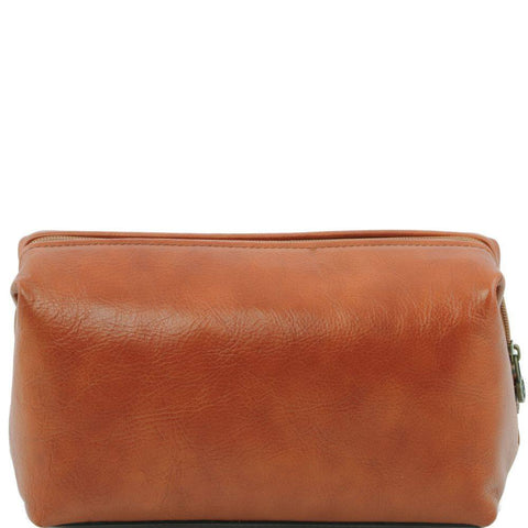 Leather toilet bag - Large size TL141219 - Executive Leather