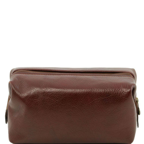 Leather toilet bag - Small size TL141220 - Executive Leather
