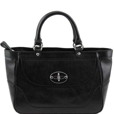 TL Neoclassie Lady Leather Handbag TL141226 - Executive Leather