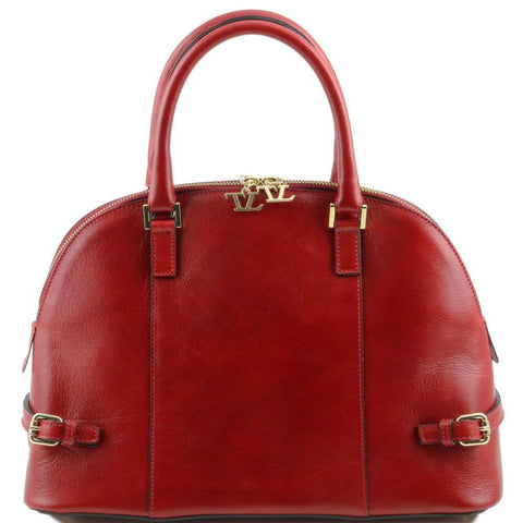 TL Bag Leather Handbag with Buckle TL141235 - Executive Leather