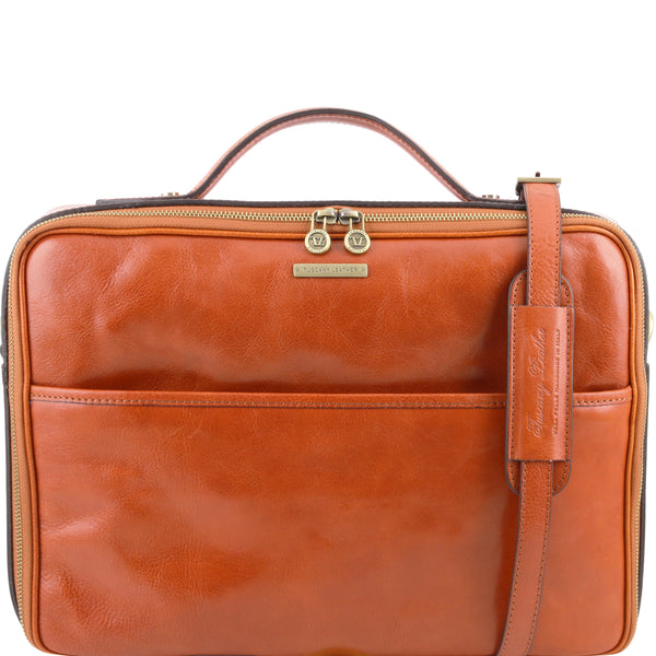 Tuscany Leather Vicenza Leather Laptop Briefcase TL141240