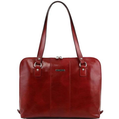 Tuscany Leather Ravenna Exclusive Lady Business Leather Bag TL141277-Executive Leather