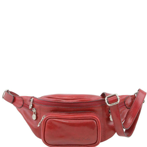 Italian Genuine Leather Fanny Pack TL141305 - Executive Leather