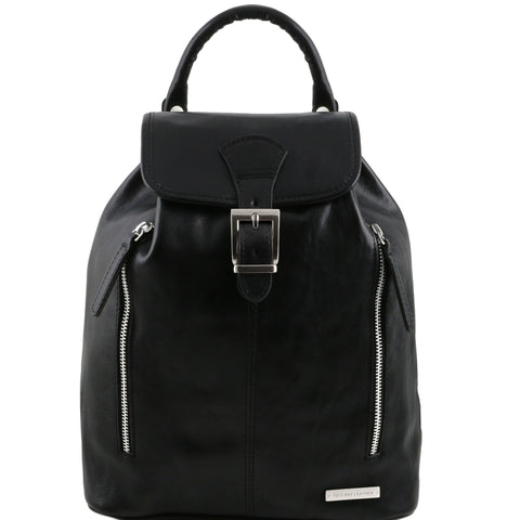 Tuscany Leather Jakarta Leather Backpack TL141341 - Executive Leather