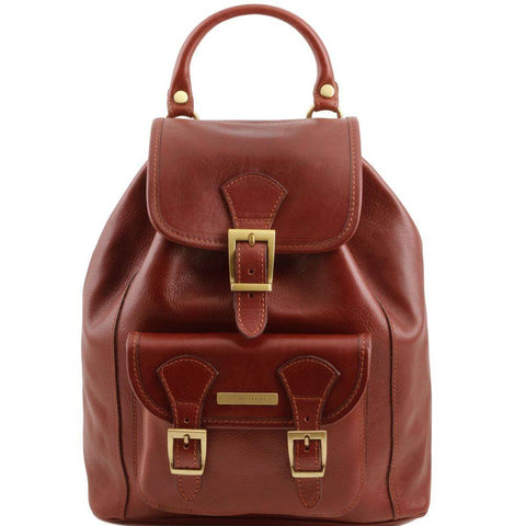 Tuscany Leather Kobe Leather Backpack TL141342 - Executive Leather