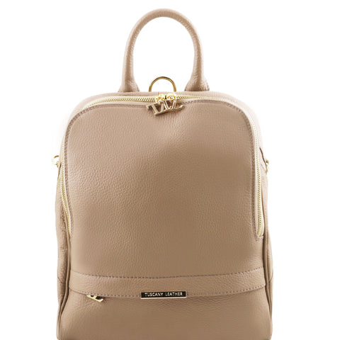 TL Soft leather backpack for women TL141376