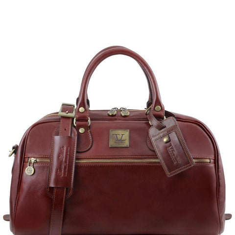 Tuscany Leather TL Voyager Travel Leather Bag Small Size TL141405 - Executive Leather