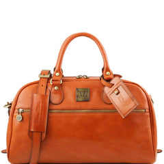 Tuscany Leather TL Voyager Travel Leather Bag Small Size TL141405