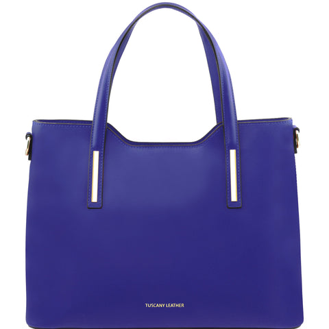 Olimpia Ruga Leather Tote - Large Size  TL141412