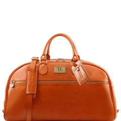 Voyager Italian Leather Duffle Bag Large Size TL141422