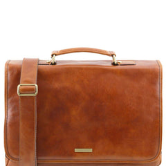 Mantova Italian Leather Briefcase For Men TL141450