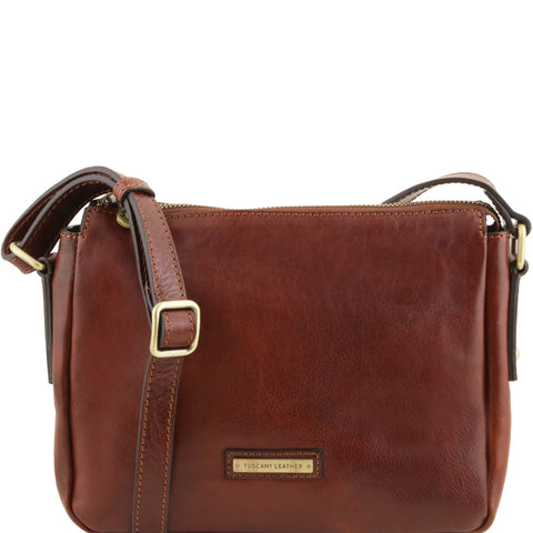 TL Michela Leather Shoulder Bag TL141476 - Executive Leather