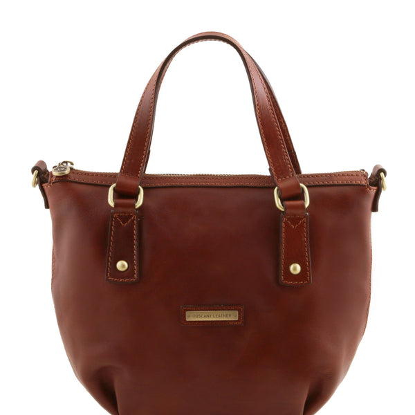 TL Olga Leather Shopping Bag TL141483 - Executive Leather