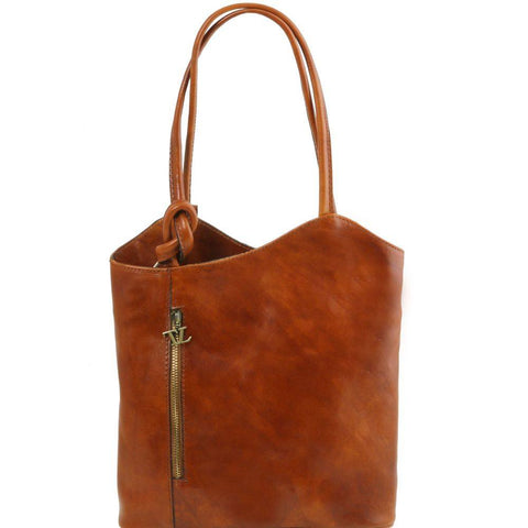 Tuscany Leather Patty Leather Convertible Bag TL141497 - Executive Leather