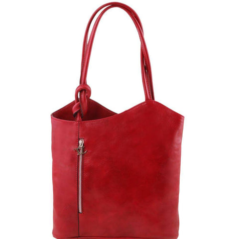 PATTY Leather convertible bag TL141497 - Executive Leather
