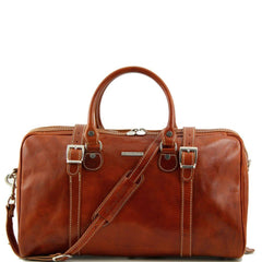 Image of Berlin Italian Leather Travel Bag Small Size TL1014