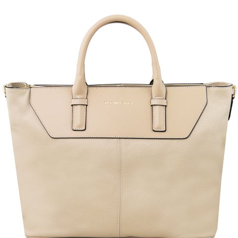 TL Irene Soft Leather Smart Shopping Bag TL141514