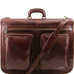 Italian Leather Travel / Garment  Bag TL3030