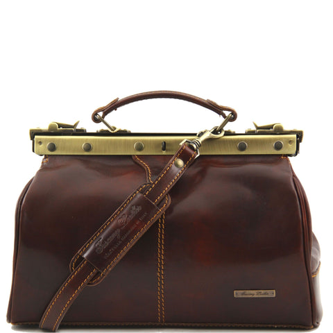 TL Michaelangelo Doctor Gladstone Leather Bag TL10038 - Executive Leather