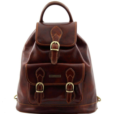 Tuscany Leather Singapore Leather Backpack TL9039 - Executive Leather