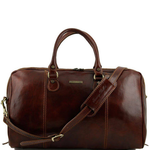 Tuscany Leather Paris Travel Leather Duffle Bag TL1045 - Executive Leather