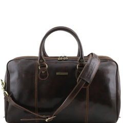 Tuscany Leather Paris Travel Leather Duffle Bag TL1045