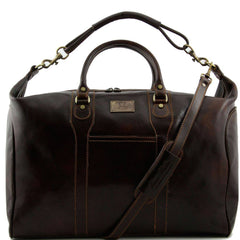 TL Amsterdam Travel leather weekender bag TL1049