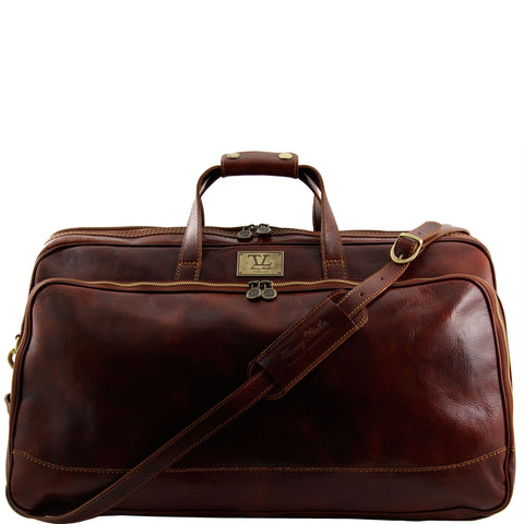 Luxurious Trio Italian Leather Travel Set For The Executive