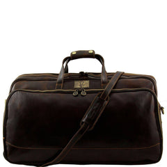 Bora Bora Leather Travel Bag with Wheels - Large size For Men & Women TL3067