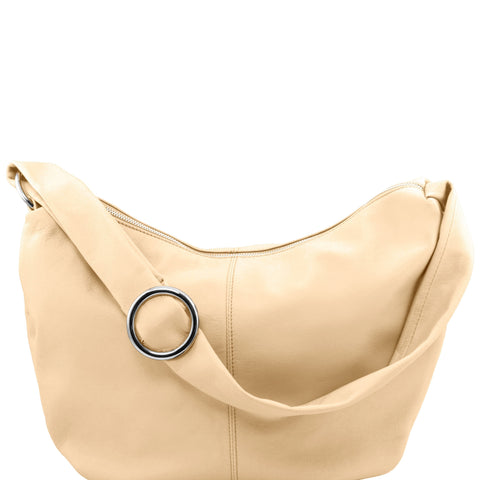 Yvette Leather Shoulder Bag For Women TL140900