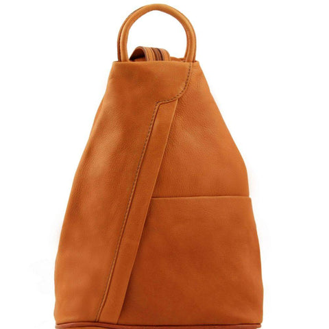 Tuscany Leather Shanghai Leather Backpack TL40963 - Executive Leather
