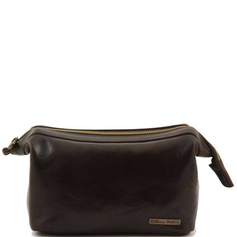 Italian Leather toilet bag TL140979 - Executive Leather